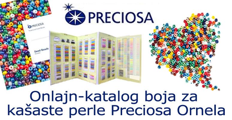 Katalog boja za kašaste perle Preciosa Ornela